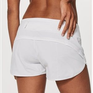 Lulu Lemon White Shorts
